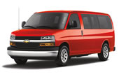 Rent a Chevrolet Van Express 15 Pax in Canc�n