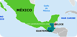 Mexico to Belize